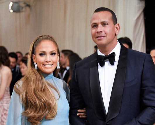 <p>Jennifer Lopez and Alex Rodriguez (Photo by Evan Agostini/Invision/AP)</p>