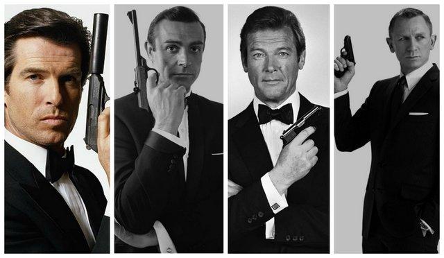 007: Μπρόσναν, Κόνερι & Κρεγκ αποχαιρετούν τον Ρότζερ Μουρ [photos]