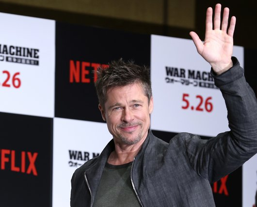 <p>Brad Pitt (AP Photo/Koji Sasahara)</p>