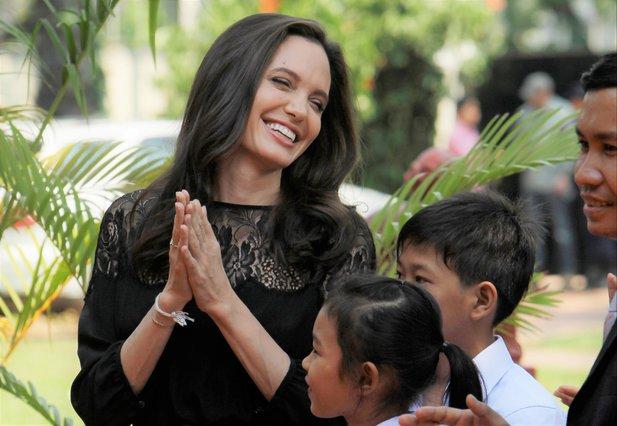 <p>Angelina Jolie (AP Photo/Heng Sinith)</p>