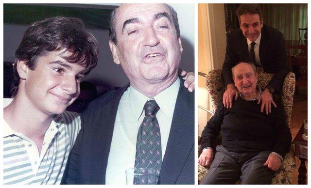 Κωνσταντίνος και Κυριάκος Μητσοτάκης: Δυο φωτογραφίες, μια σημαντική οικογενειακή και πολιτική ιστορία