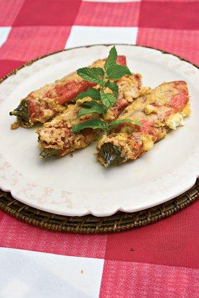 Πιπεριές φλωρίνης με τυριά
