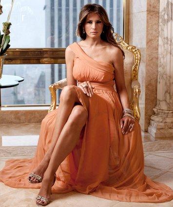 Melania Trump: Ντύθηκε… «πεντάμορφη»  Belle και έλαμψε στο Λονδίνο