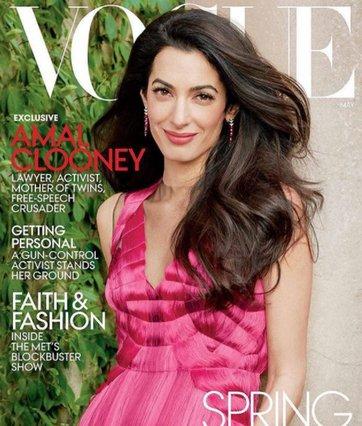 Amal Alamuddin: Φωτογραφίζεται για πρώτη φορά για τη Vogue