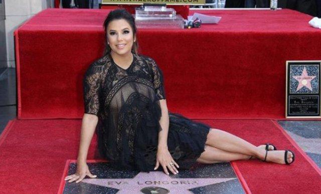 Eva Longoria: Απέκτησε το δικό της αστέρι στη Λεωφόρο της Δόξας