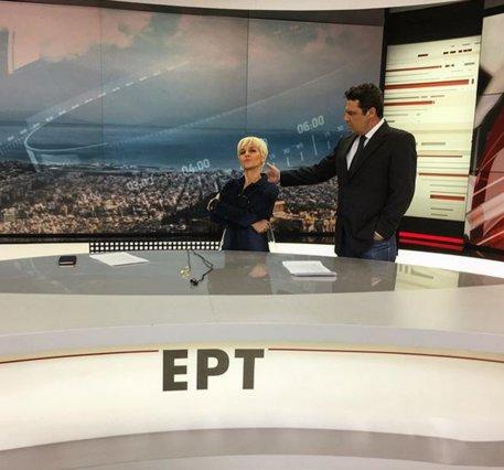 ΕΡΤ: Η απάντηση των παρουσιαστών για το ρεζιλίκι on camera