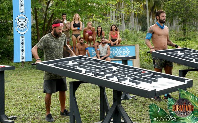 Survivor: Ποια ομάδα κέρδισε το έπαθλο άνεσης και ποια του φαγητού;