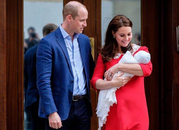 Kate & William: Aνακοινώθηκε το όνομα του τρίτου τους παιδιού