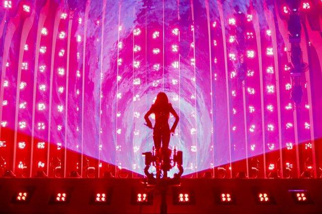 Eurovision 2018: H πρώτη εκρηκτική πρόβα της Φουρέιρα - «Fuego» στο Altice Arena