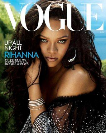 Για 5η φορά εξώφυλλο στη Vogue η Rihanna – Πιο πληθωρική από ποτέ δίνει γροθιά στο body shaming