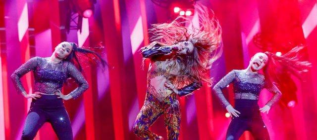 Eurovision 2018: Ολόκληρη η εμφάνιση της Ελένης Φουρέιρα - Φωτιά επί σκηνής