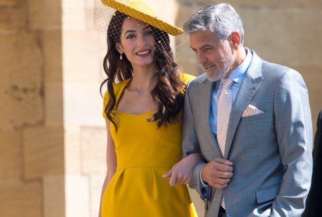 George & Amal Clooney - Προσφέρουν 100.000 δολλάρια στα παιδιά των προσφύγων!