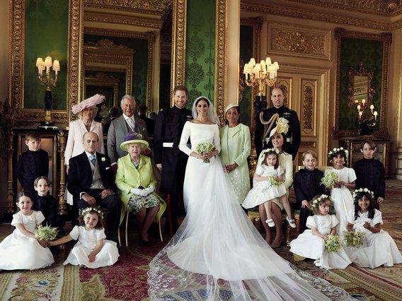 Harry και Meghan: Ιδού οι επίσημες φωτογραφίες του γάμου τους