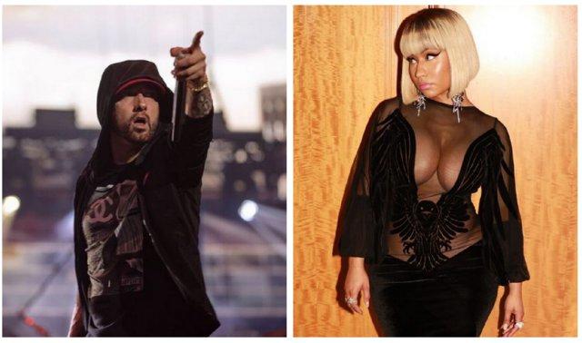 H Nickie Minaj και ο Eminem είναι ζευγάρι: Το επιβεβαίωσε η ίδια
