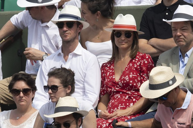 Pippa Middleton: Η πρώτη εμφάνιση με φουσκωμένη κοιλίτσα [photos]