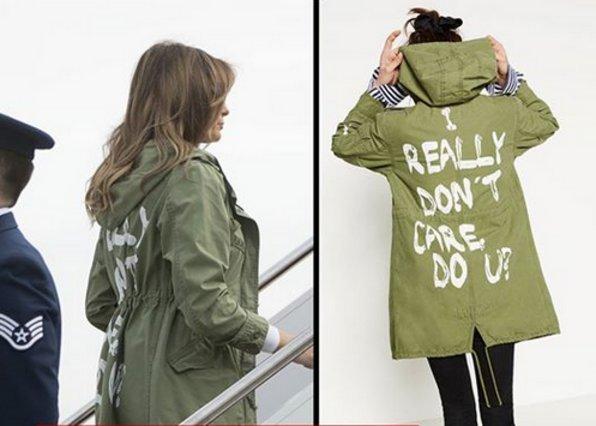 Melania Trump - Η ατυχής στυλιστική επιλογή της σε συνάντηση με μετανάστες