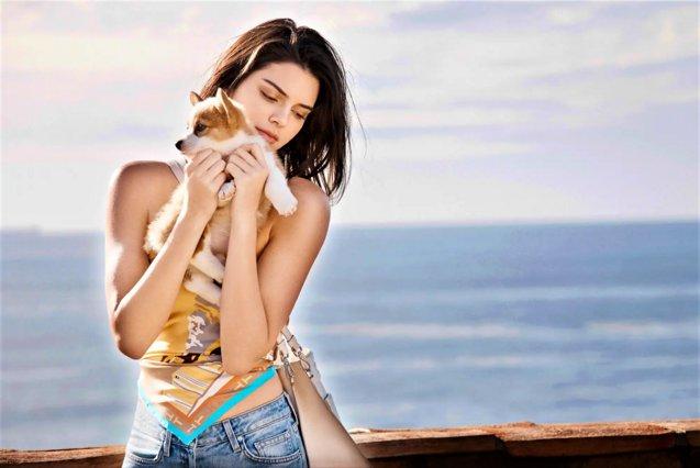 Ούτε Photoshop, ούτε φίλτρα: Αυτό είναι το πραγματικό κορμί της Kendall Jenner