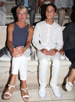 Νατάσα Παζαΐτη: Με τον γιο της στο Ηρώδειο [photos]