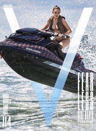 Η νέα φωτογράφιση της Gigi Hadid για το V Magazine είναι ό,τι πιο hardcore είδες τελευταία
