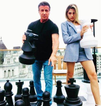 Ο μικρός αδερφός του Sylvester Stallone είναι κι αυτός σαν star του Hollywood