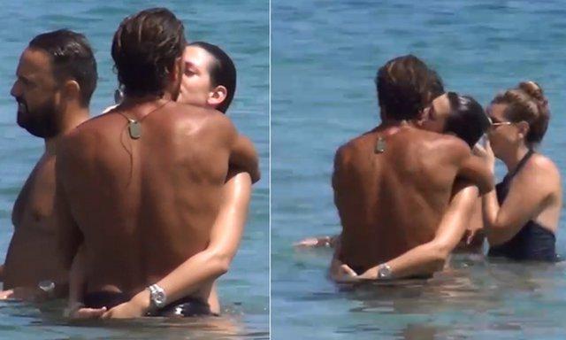 Ουπς! Παιδιά σας βλέπουν... Ασυγκράτητοι και full in love σε παραλία της Μυκόνου [Video]
