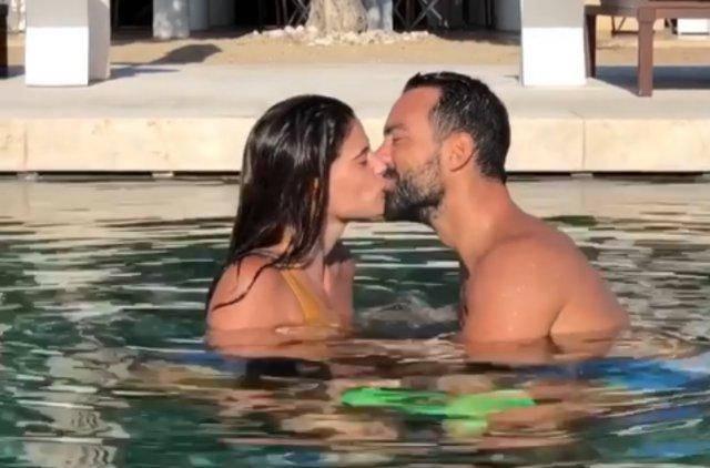 Το τρυφερό τετ α τετ Τανιμανίδη-Μπόμπα στην πισίνα και η παρέμβαση για να τους χωρίσουν! [Video]