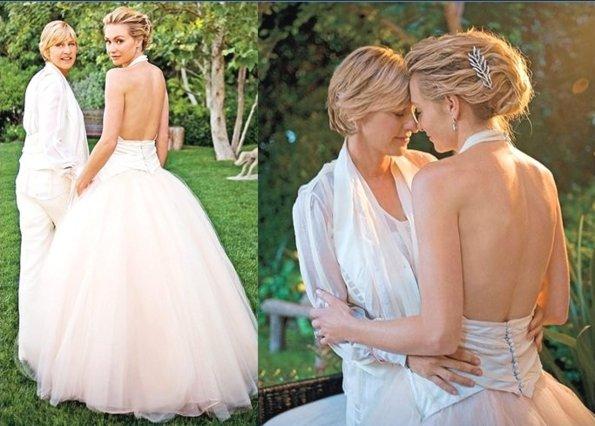 Ellen deGeneres - Portia deRossi: Το βίντεο για τα 10 χρόνια γάμου τους συγκινεί