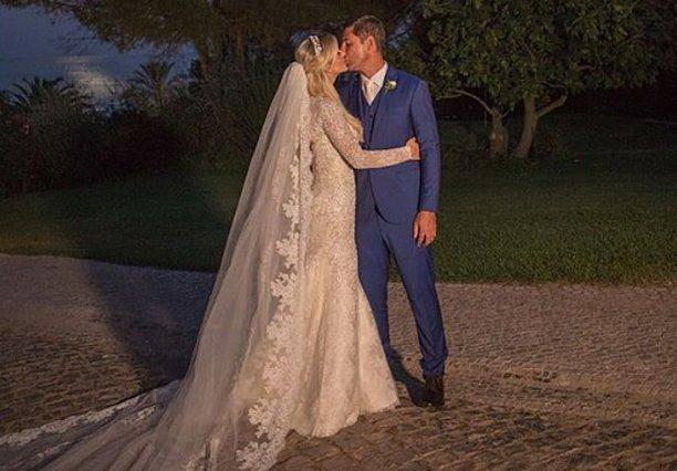 Παραμυθένιος γάμος για Αλβάρο και Denize Severo! [Photos]