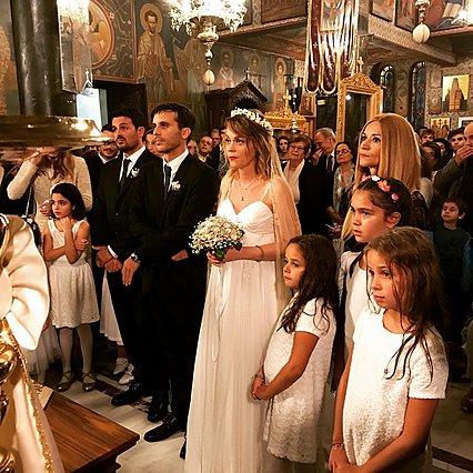 Λένα Παπαληγούρα: Οι πρώτες φωτογραφίες από τον γάμο της