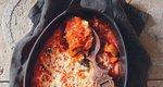 Γιουβέτσι με κριθαράκι και μανιτάρια