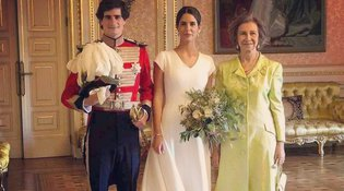 Το πιο εντυπωσιακό νυφικό χτένισμα ήρθε από βασιλικό γάμο στην Ισπανία