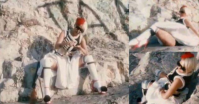 Ε ποτέ! Η Νατάσα Καλογρίδη ντύθηκε... τσολιάς και έρχεται με αέρα επανάστασης! [Video]