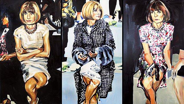 Anna Wintour: Η εμβληματική διευθύντρια της Vogue σε ρόλο... μοντέλου!