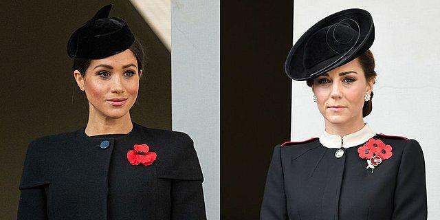 Kate και Meghan: Η πρώτη κοινή τους εμφάνιση εδώ και καιρό είχε έντονο παρασκήνιο