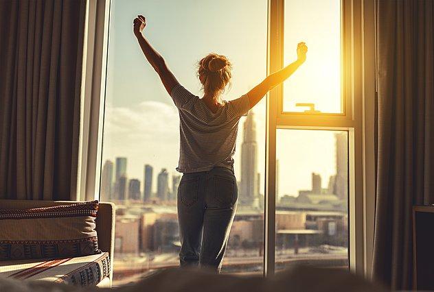 5 συμβουλές για έναν καλό ύπνο και ένα χαρούμενο ξύπνημα