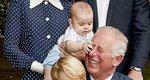 Ο πρίγκιπας Louis τσιμπάει τον παππού Κάρολο και όλοι
