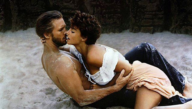 <p>Jeff Bridges, Rachel Ward στο Against All odds του 1984</p>