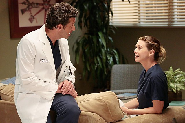 <p>Meredith Grey (aka Ellen Pompeo) και Dereck Shepherd (aka Patrick Dempsey). Το εμβληματικό ζευγάρι του Grey's Anatomy παραμένει #relationshipgoals υλικό ακόμη και τώρα που δεν υφίσταται πια, αν