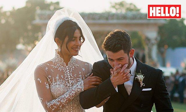 Priyanka Chopra - Nick Jonas: Οι πρώτες επίσημες φωτογραφίες από τον γάμο είναι απίθανες