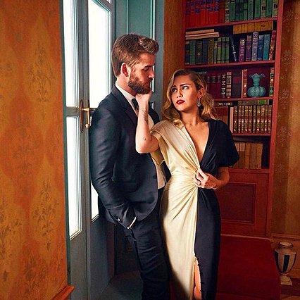 <p>Ο Liam Hemsworth και η Miley Cyrus δεν έχουν παντρευτεί ακόμη, αλλά όπως, φαίνεται, ως προς τη διαφορά ύψους... καλά τα πηγαίνουν!</p>