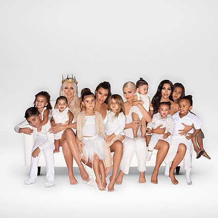 Το φαντασμαγορικό χριστουγεννιάτικο πάρτι της οικογένειας Kardashian [photos]