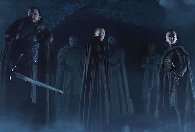 John Snow, Sansa και Arya ξανά μαζί στο Game of Thrones: Η πρεμιέρα της 8ης σεζόν [video]