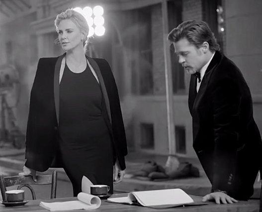 Charlize Theron - Brad Pitt: Όλη η αλήθεια για τη γνωριμία τους σε ένα βίντεο