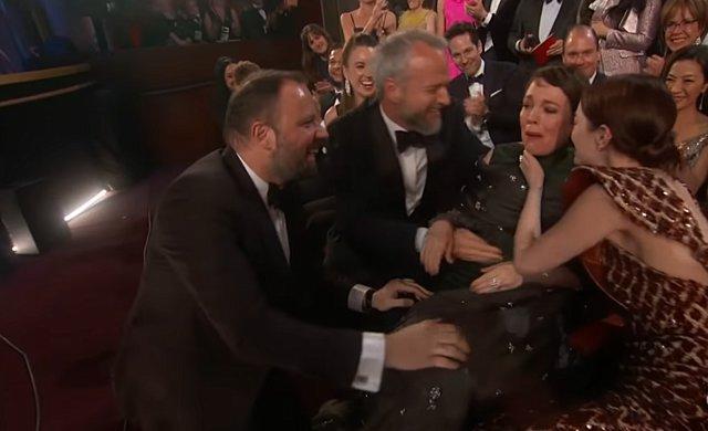 Τα δάκρυα του Γιώργου Λάνθιμου όταν η Olivia Colman κέρδισε το Όσκαρ [video]