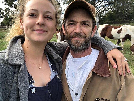 Luke Perry: Το συγκινητικό, δημόσιο  αντίο  της κόρης του