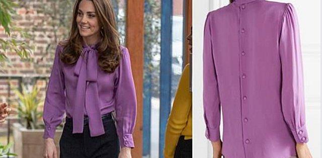 Η Kate φόρεσε ανάποδα την Gucci μπλούζα της - Ε και; [photos]