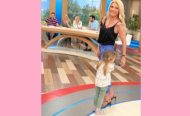 Ελένη και Μαρίνα μαζί στο τηλεοπτικό πλατό! [Bίντεο+Φωτογραφία]