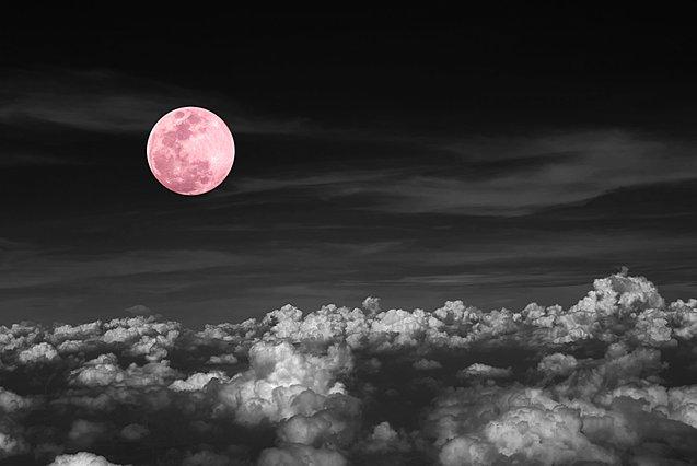 Ετοιμάσου σήμερα για το ροζ φεγγάρι