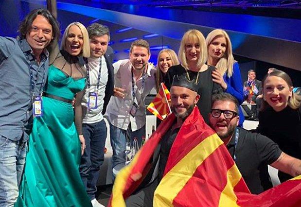Eurovision 2019: Η τραγουδίστρια της Βόρειας Μακεδονίας ευχαρίστησε τους Έλληνες on camera για τον 1 βαθμό που της έδωσαν!