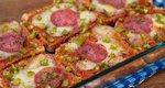 Πίτσα express: Η πιο εύκολη συνταγή χωρίς ζύμη για το πιο νόστιμο σπιτικό σνακ